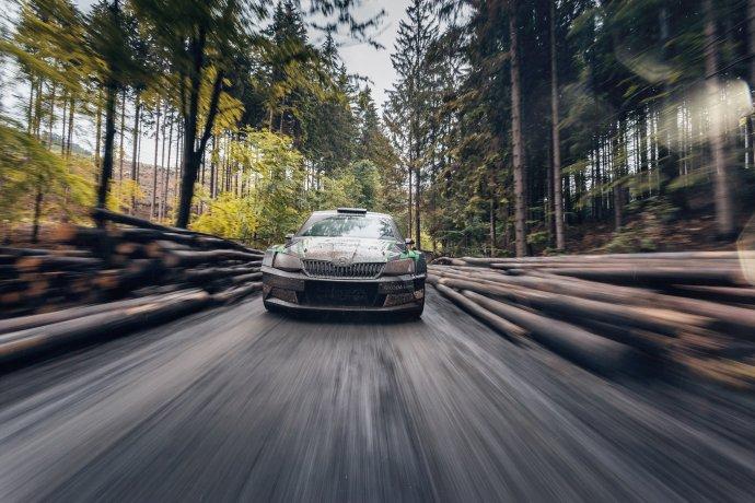 Škoda Fabia Rally 2