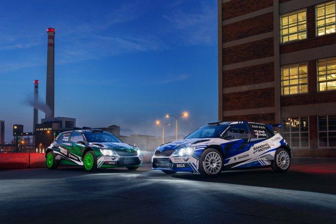 Samohýl ŠKODA Team - Škoda Fabia Rally2