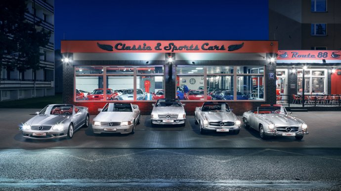 Classic & Sports Cars Rožnov pod Radhoštěm
